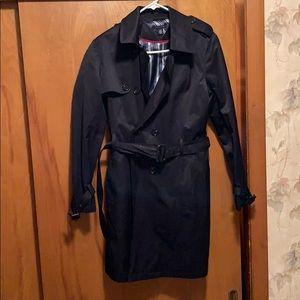 Tommy Hilfiger - Size L - Navy Blue Rain Coat